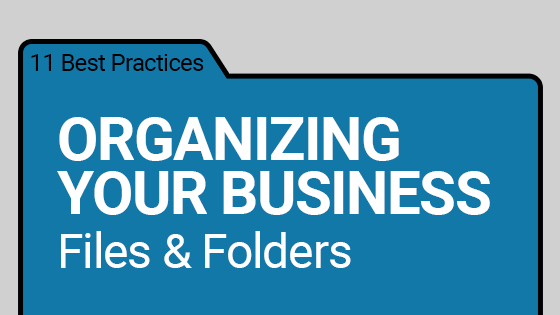 How to Organize Digital Documents for Business
